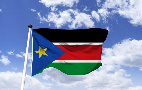 Sai, quốc kỳ Nam Sudan có một hình ngôi sao