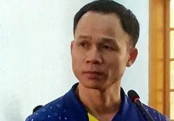 Hồ Trọng Đăng tại tòa hôm 14/10. Ảnh: Ngọc Oanh.