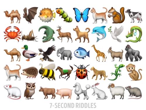 Sáu câu đố tìm hình giống nhau - 2