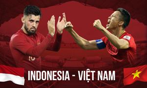 Lịch sử nghiêng về Indonesia trước trận đấu Việt Nam