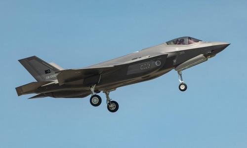 Tiêm kích F-35A đầu tiên của Thổ Nhĩ Kỳ bay thử hồi tháng 6. Ảnh: USAF.