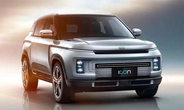 Icon - mẫu SUV mới của hãng xe Trung Quốc. Ảnh: Geely