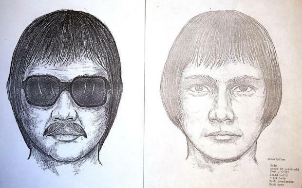 Phác thảo chân dung nghi phạm vụ bắt cóc. Ảnh: Forum News Service.