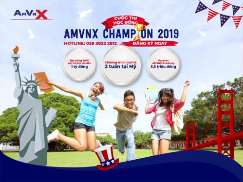 Khởi động cuộc thi Học bổng THPT Mỹ AMVNX 2019