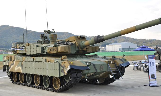 Dàn vũ khí tại triển lãm quân sự ADEX-2019