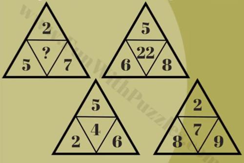 Tìm quy luật của năm câu đố toán học - 4