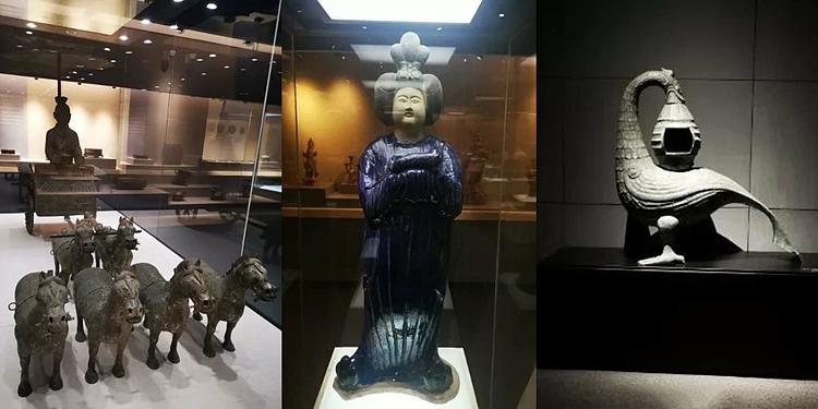 Cáchiện vật được trưng bày trong Bảo tàng Đại học Trùng Khánh. Ảnh: Handout