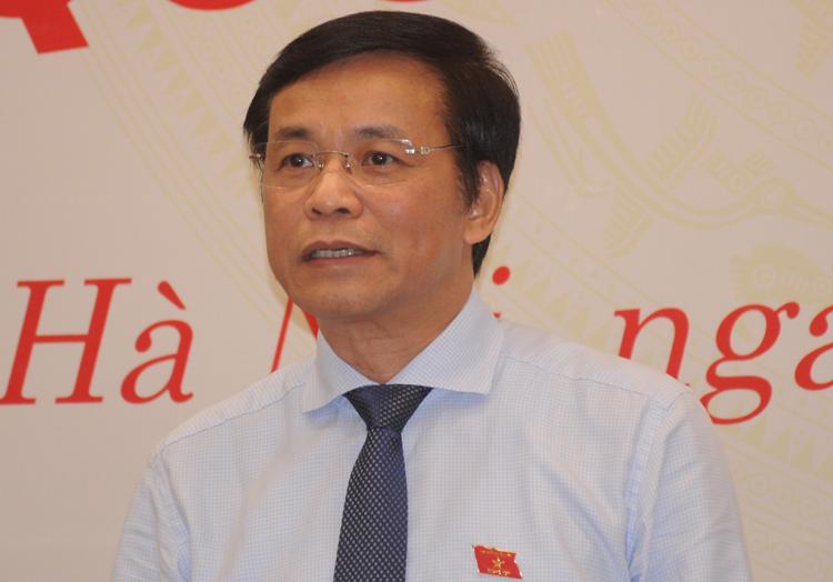 Tổng thư ký Quốc hội Nguyễn Hạnh Phúc. Ảnh: Viết Tuân