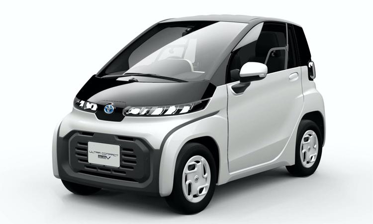 Ultra-compact BEV sẽ ra mắt cuối tháng 10 ở Tokyo Motor Show. Ảnh: Toyota