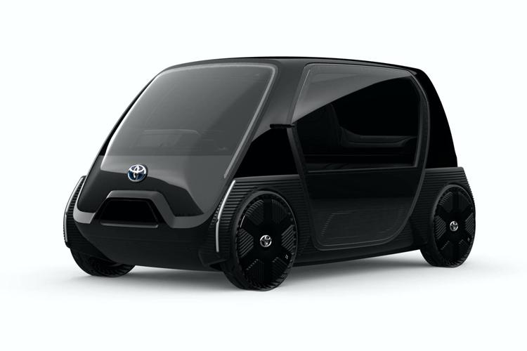 Phiên bản dành cho khách hàng doanh nghiệp có màu đen, với nội thất tùy chỉnh. Ảnh: Toyota