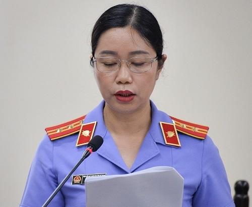 Đại diện VKSND tỉnh Hà Giang. Ảnh: H.N.
