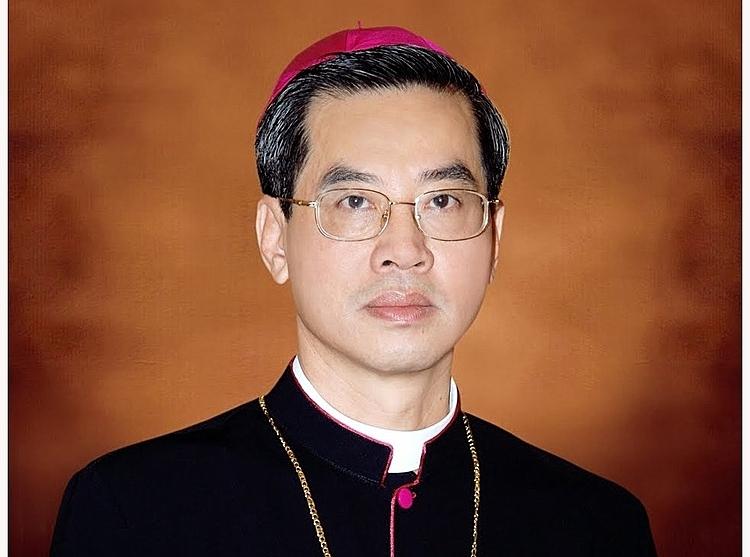 Tân Tổng Giám mục Tổng giáo phận TP HCM Joseph Nguyễn Năng. Ảnh: TGP TP HCM