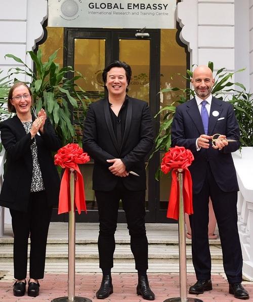 Buổi lễ ra mắt trung tâm về phương phápReggio Emilia đầu tiên tại Việt Nam. Xem thêm thông tin tại đây.
