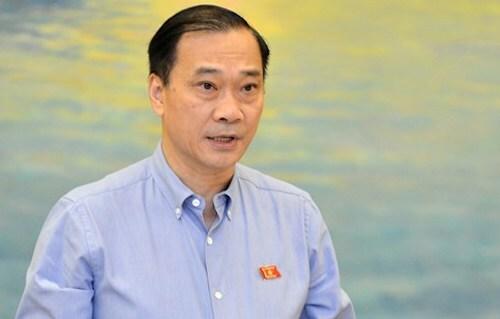 Chủ nhiệm Uỷ ban Kinh tế Vũ Hồng Thanh. Ảnh: Trung tâm báo chí Quốc hội