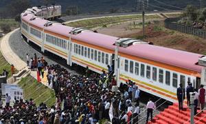 Đoạn đường sắt 1,5 tỷ USD Trung Quốc xây ở Kenya