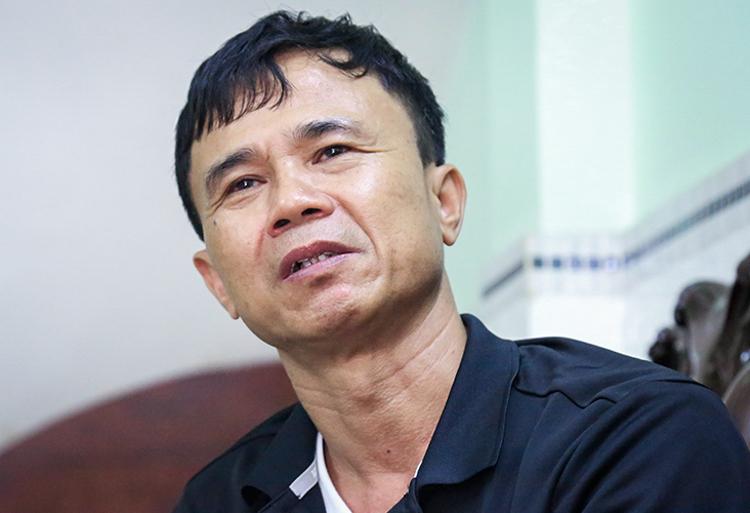 Trung tá, y sĩNguyễn Hữu Tôn, hồi ức cơn bão Faith năm 1998 làm ba đồng đội hi sinh. Ảnh: Phước Tuấn.