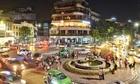 Kinh tế đêm - cảnh sát Thái ngồi canh phố ăn khuya