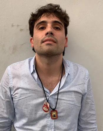 Ovidio Guzman Lopez, con trai của trùm ma túy Joaquín El Chapo Guzman. Ảnh: NY Post.