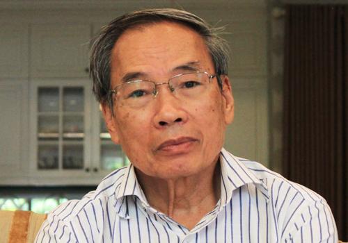 Ông Trần Quang Hưng, nguyên Phó chủ tịch, kiêm Tổng thư ký Hội cấp nước Việt Nam. Ảnh: Anh Duy.