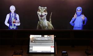 Những nhân viên ảo trong khách sạn ở Tokyo