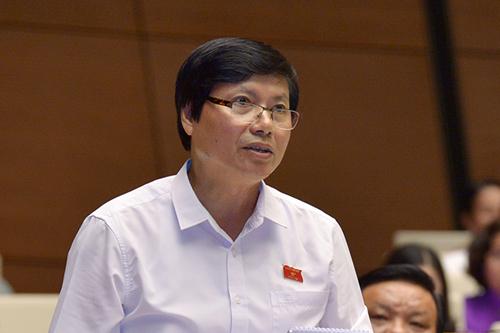 Ông Trần Đăng Ninh, Phó bí thư Tỉnh uỷ, Trường đoàn Đại biểu Quốc hội tỉnh Hoà Bình. Ảnh: Trung tâm báo chí Quốc hội