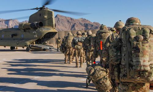 Binh sĩ lục quân Mỹ trong một nhiệm vụ ở Afghanistan năm 2019. Ảnh: US Army.