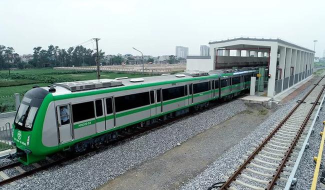 Tuyến đường sắt Cát Linh - Hà Đông hiện nay dài 13km. Ảnh: Giang Huy.