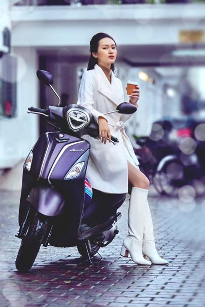 Yamaha Grande dành riêng cho phái nữ.
