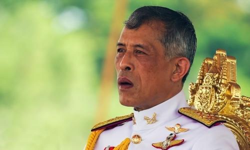 Vua Maha Vajiralongkorn tại Bangkok hồi tháng 5. Ảnh: Reuters.