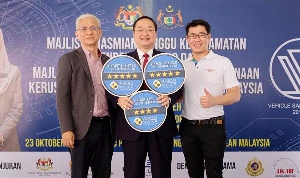 Fadil đạt chứng nhận an toàn 4 sao của Asean Ncap.