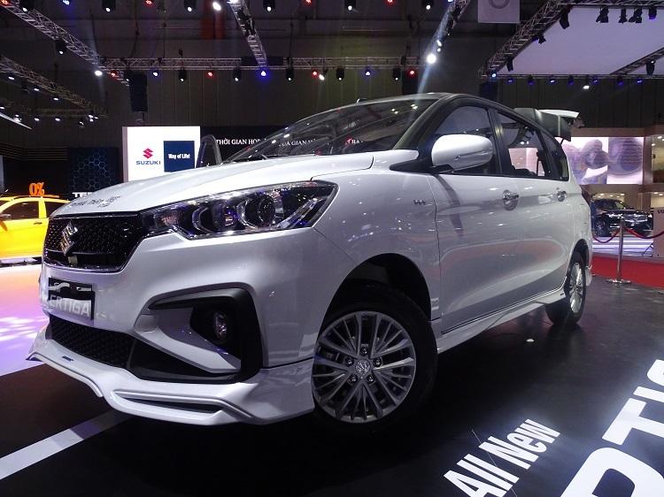 Ertiga - dòng MPV 7 chỗ bán chạy của hãng
