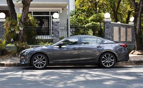 Mazda6 có doanh số tốt trong phân khúc.