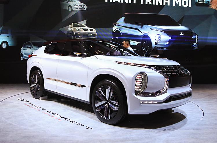 Mitsubishi GT-PHEV concept. Ảnh: Đức Huy
