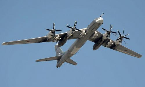 Oanh tạc cơ Tu-95MS Nga. Ảnh: Russian Planes.