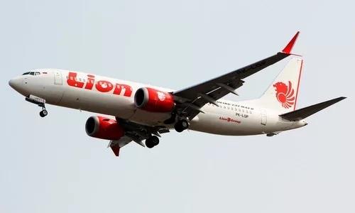 Một máy bay Boeing 737 MAX 8 củaLion Air trước thời điểm xảy ra tai nạn tháng 10/2018. Ảnh: Reuters.