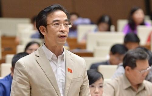 Đại biểu Ngô Quang Tuấn. Ảnh: Trung tâm báo chí Quốc hội