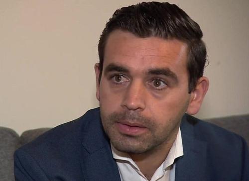 Ahmad Al-Rashid, một người di cư Syria hiện sống tại London, Anh. Ảnh: BBC.