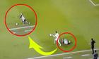 Nằm Än vạ, 5 giây sau cầu thủ bật dậy chạy khi bóng Äến chân