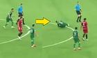 Cầu thủ tại Trung Quá»c lao vào trá»ng tài rá»i lÄn ra Än vạ