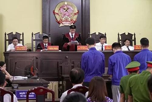Phiên tòa mở ngày 23/10. Ảnh: Thành Nguyễn