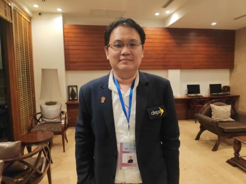 Ông Pracha Asawateera, Giám khảo vòng chung khảo AICTA đến từ Thái Lan.