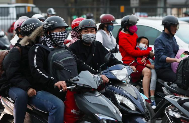 TP Hà Nội hiện có 6 triệu xe máy. Ảnh: Ngọc Thành
