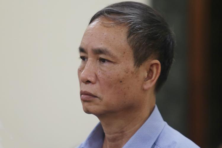 Ông Phạm Văn Khuông nhận bản án một năm tù treo. Ảnh: Phạm Dự