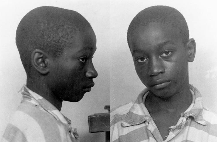 George Stinney Jr. là người trẻ nhất bị xử tử hình bằng ghế điện tại Mỹ. Ảnh: State of South Carolina.