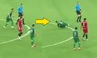 Cầu thủ tại Trung Quá»c lao và o trá»ng tài rá»i lÄn ra Än vạ