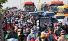 Xe buýt, ôtô và xe máy không thể nào sống chung được nữa