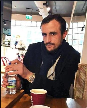 Kastrijot Ahmati, một trong 4 kẻ vận hành đường dây buôn người di cư vào Anh qua Facebook Người Albani ở London. Ảnh: Facebook/ Người Albani ở London.