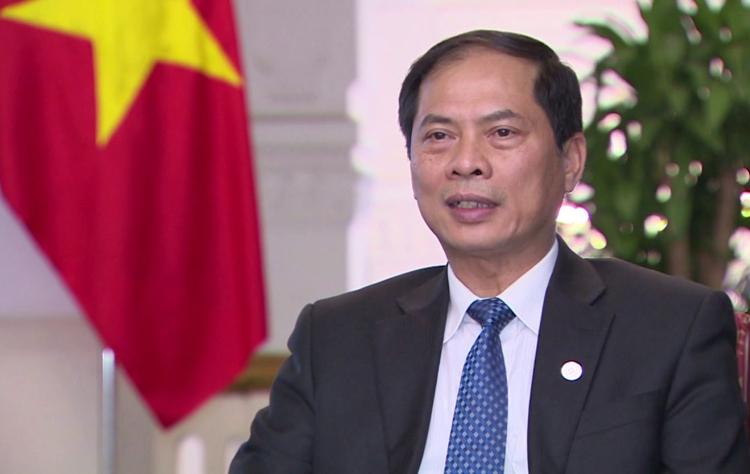 Thứ trưởng Ngoại giao Bùi Thanh Sơn. Ảnh: VGP