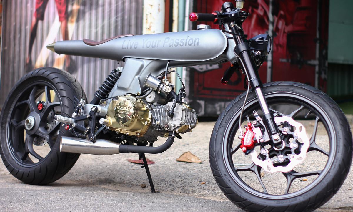 Honda 67 hình viên đạn hàng độc của thợ Sài Gòn