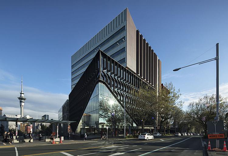 Trung tâm khoa học của Đại học Auckland, New Zealand. Ảnh: Simon Devitt/Arch Daily